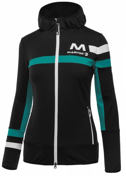 Martini Sportswear Supreme Damen Midlayer black/atlantis/white