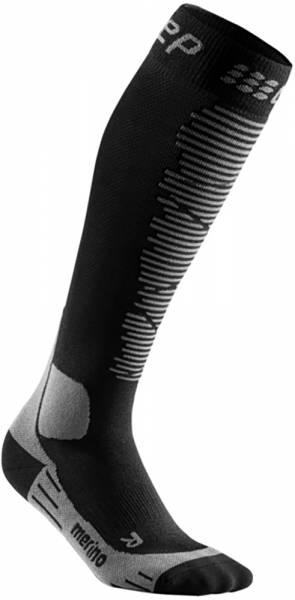 CEP Ski Merino Compression Socks Damen Skisocken black/anthracite