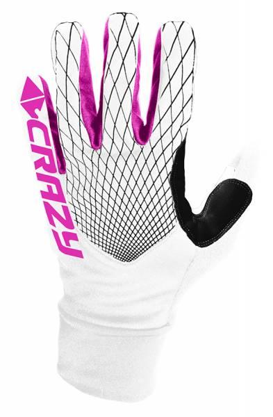 Crazy Idea Gloves Sci Alp Race Skitourenhandschuh white