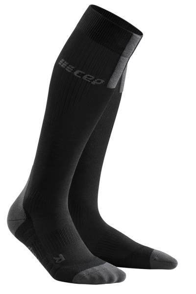 CEP Run Socks 3.0 Damen Compression-Socken black/dark grey