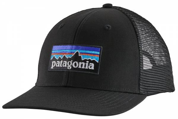 Patagonia P-6 Logo Trucker Hat Cap black