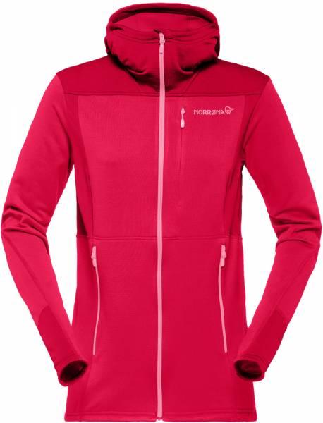 Norrona Falketind warm1 Stretch Zip Hoodie Women Fleecejacke Jester Red