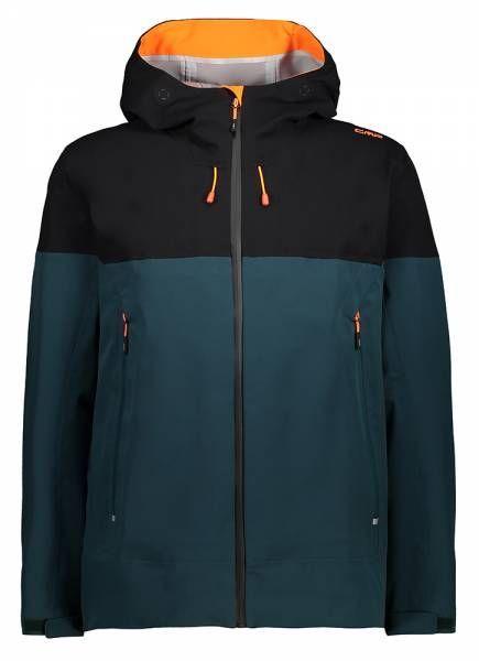 CMP Man Jacket Fix Hood Herren Hardshelljacke petrolio (30Z2707)