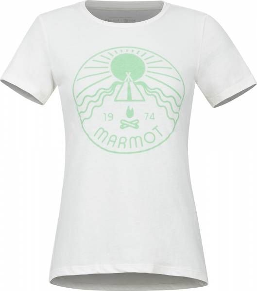 Marmot Prism Tee SS Women T-Shirt turtledove heather
