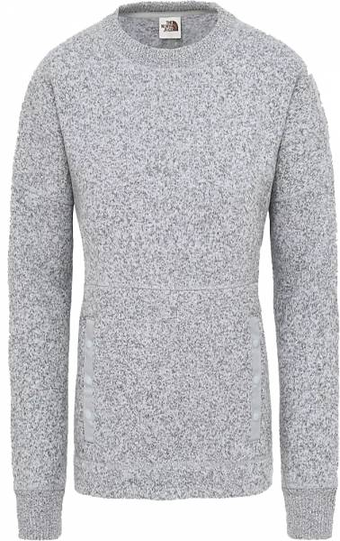 The North Face Crescent Pullover Women TNF Light Grey Heather