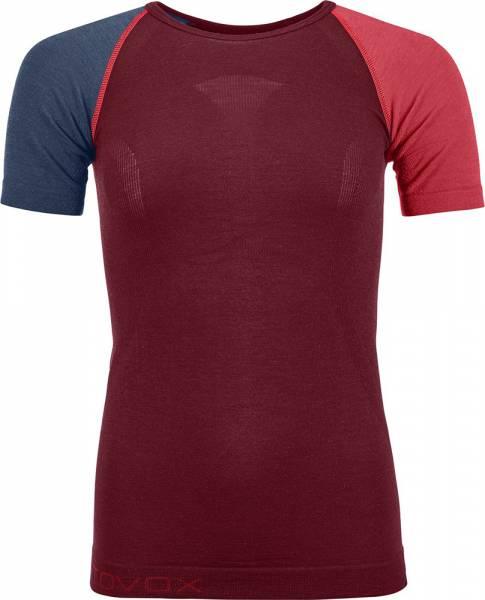 Ortovox 120 Comp Light Short Sleeve Women T-Shirt dark blood