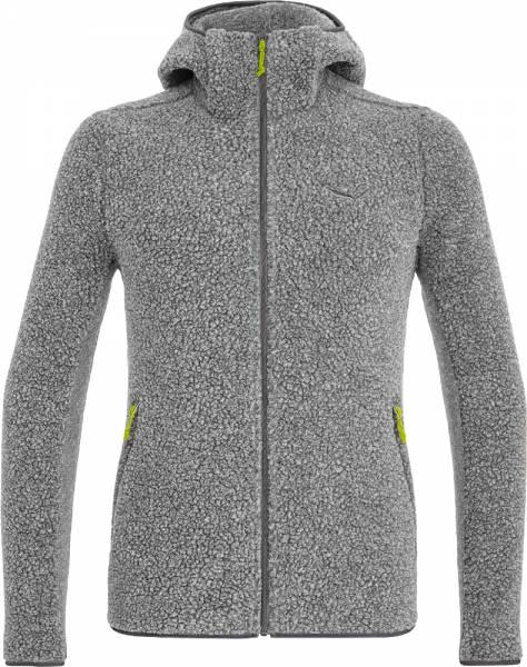 Salewa Fanes Shearling Wool Men Jacket Jacke grey melange