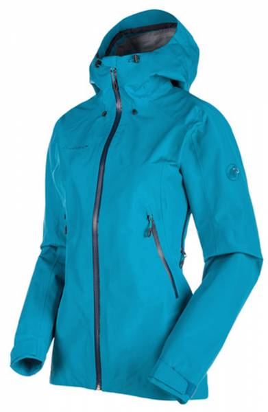Mammut Ridge HS Hooded Jacket Women Hardshelljacke aqua