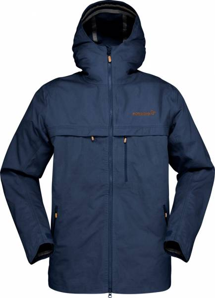 Norrona Svalbard Cotton Jacket Men Baumwolljacke Indigo Night