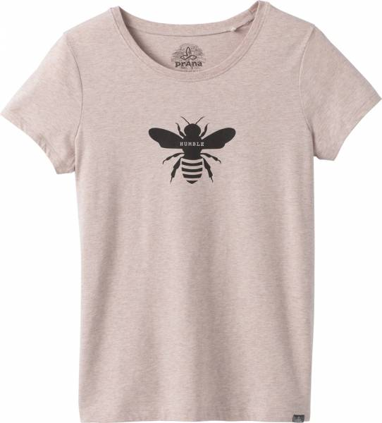 Prana Graphic Tee Women T-Shirt bee humble