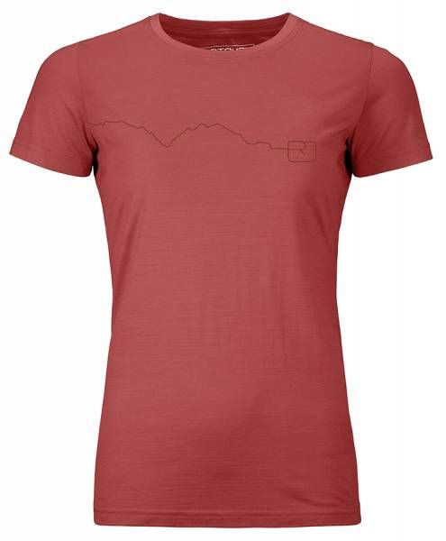 Ortovox 120 Tec Mountain Damen T-Shirt blush