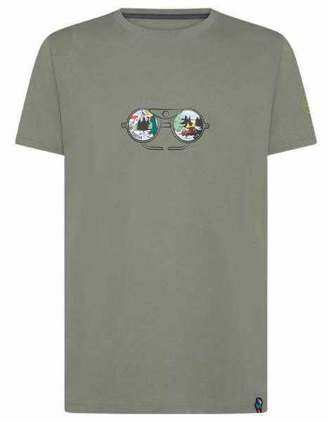 La Sportiva View Herren T-Shirt clay
