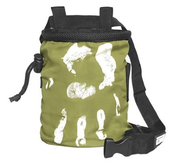 LACD Chalk Bag Hand of Fate moss green
