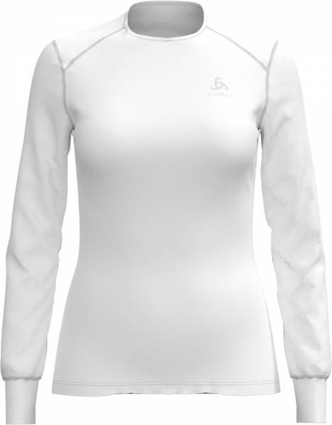 Odlo Active Originals Warm Shirt Longsleeve crew neck Women white
