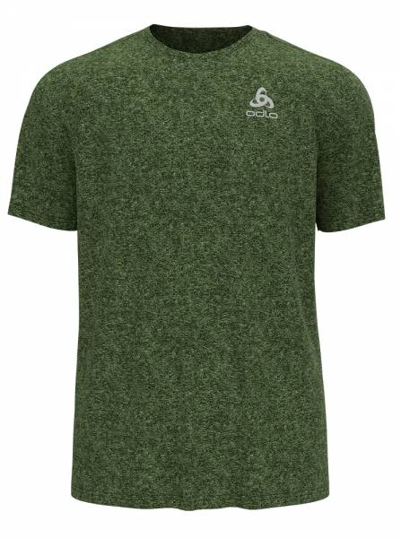 Odlo Run Easy 365 T-Shirt Herren Running-Shirt lounge lizard melange