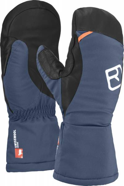 Ortovox Swisswool Freeride Mitten Men Handschuhe night blue