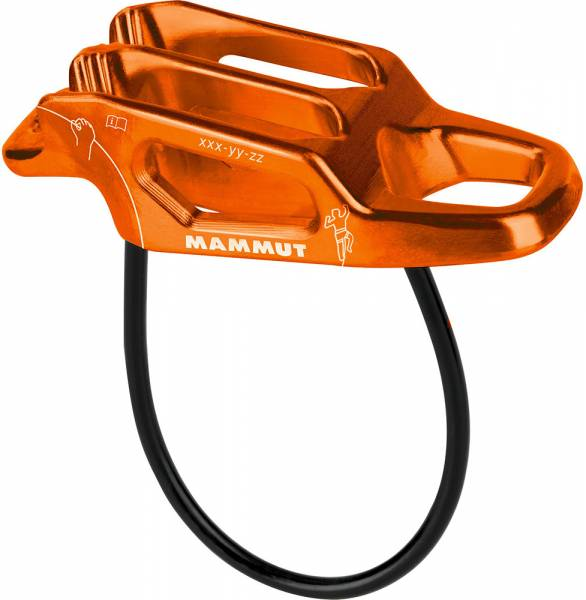 Mammut Wall Alpine Belay orange Sicherungsgerät