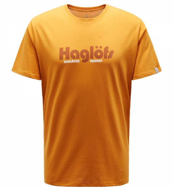 Haglöfs Camp Tee Men T-Shirt desert yellow