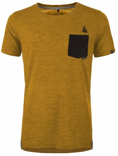 Pally´Hi Pocket Tree Men T-Shirt heather sundance