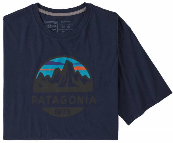 Patagonia Fitz Roy Scope Organic T-Shirt Men classic navy
