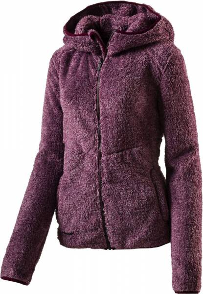 McKinley Damen Fleecejacke Lily melange red wine