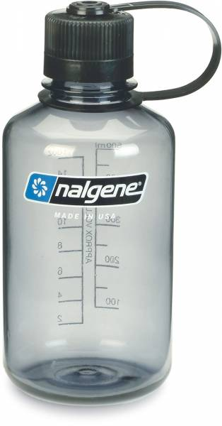 Nalgene Narrow Mouth 0,5L Trinkflasche grey