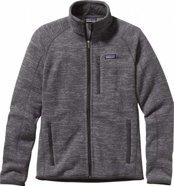 Patagonia Better Sweater Jacket Men Jacke nickel w/forge grey