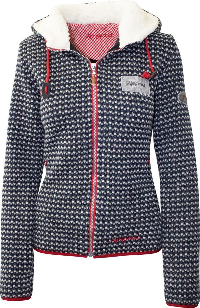 Rabatt-Verkauf riesige Auswahl an ziemlich billig Almgwand Damen Jacke Maiskogel denim/natur