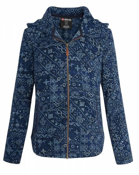 Sherpa Namla Hooded Jacket II Damen Fleecejacke neelo blue