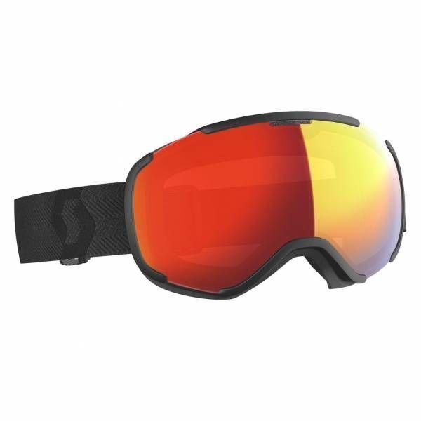 Scott Faze II Skibrille black enhancer red chrome