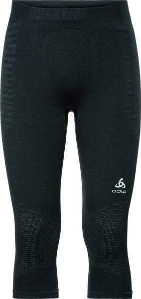 Odlo Suw Bottom Pant 3/4 Performance Warm Men Funktionsunterhose black - odlo concrete grey