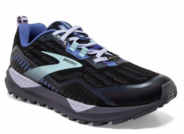 Brooks Cascadia GTX 15 Damen Trailrunningschuh black/marlin/blue