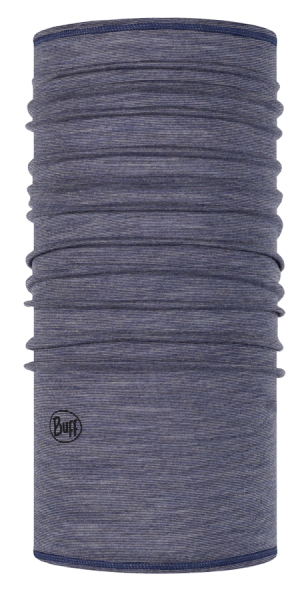 BUFF® Lightweight Merino Wool Multifunktionstuch light denim multi stripes