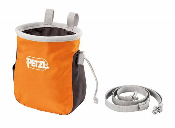Petzl Saka orange Chalkbag