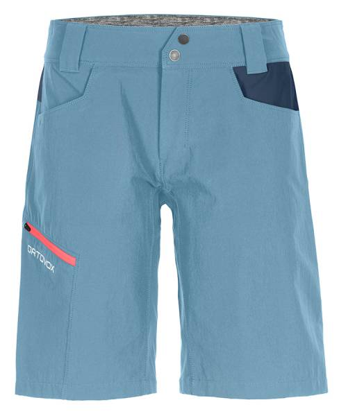 Ortovox Pelmo Shorts Damen Bergshort light blue
