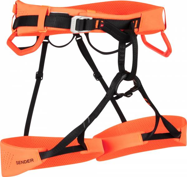 Mammut Sender Harness Klettergurt safety orange