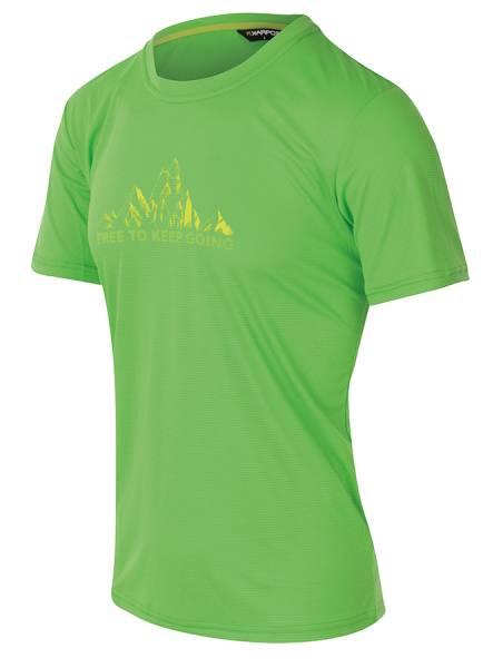 Karpos Loma Print Jersey Herren T-Shirt apple green