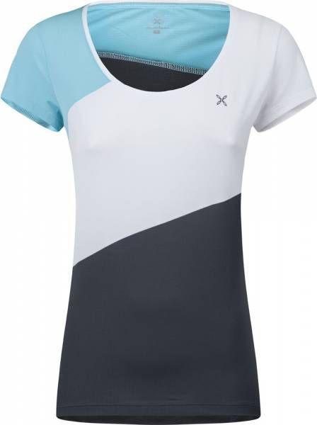Montura Style T-Shirt Women Funktionsshirt Piombo / Iceblue