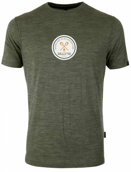 Pally´Hi Roast Mellow Men T-Shirt heather moss