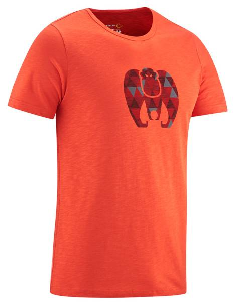 Edelrid Men Highball T-Shirt IV Herren glowing red