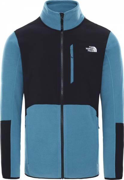 The North Face Glacier Pro Full Zip Herren Fleecejacke mallard blue tnf black