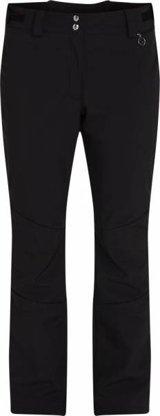 McKinley Dalia Women Softshellhose Kurzgröße Black Night