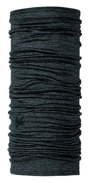 BUFF® Lightweight Merino Wool Multifunktionstuch solid grey