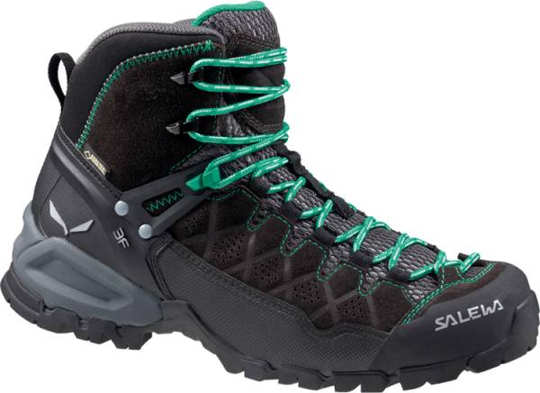 Salewa Alp Trainer Mid GTX Women Wanderschuh black out/agata
