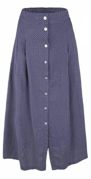 Alprausch Schüppli Skirt Damen Rock navy pünktli pattern
