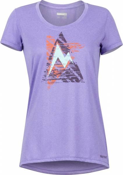 Marmot Post Time Tee Women Funktionsshirt paisley purple