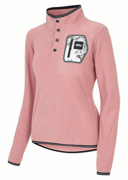 Picture Clay Pullover Damen Midlayer misty pink