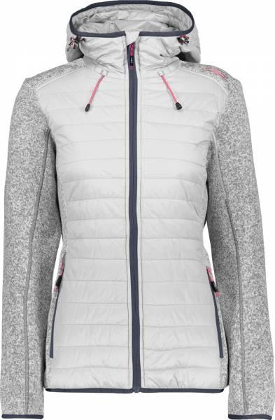 CMP Jacket Fix Hood Hybrid Women Fleecejacke ice   Fleecejacken ... 073dfc4e3b