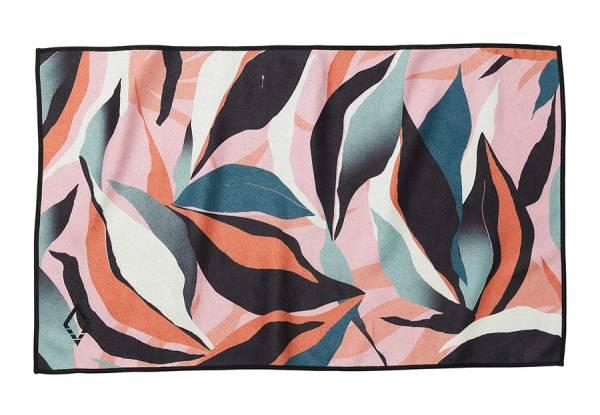 Nomadix Hand Towel Handtuch leafy pink