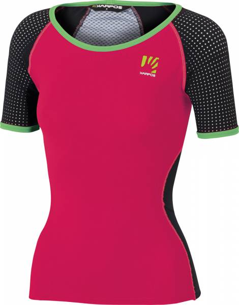 Karpos Lavaredo Jersey Shirt Women Funktionsshirt raspberry/black